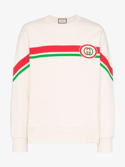 Interlocking G print sweatshirt