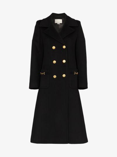 military GG wool coat