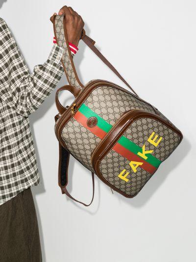 multicoloured Fake/Not GG Supreme backpack