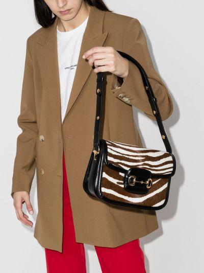 multicoloured Horsebit 1955 leather shoulder bag