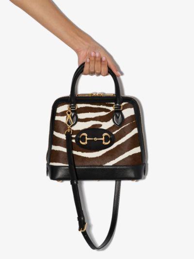 multicoloured Horsebit 1955 leather tote bag