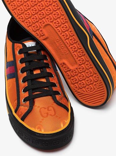 orange Off The Grid Tennis 1977 sneakers
