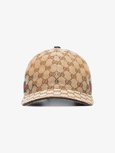 Original GG canvas baseball hat with Web