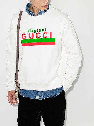 Original logo print sweatshirt
