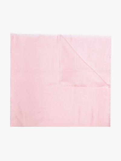 pink GG Supreme jacquard scarf
