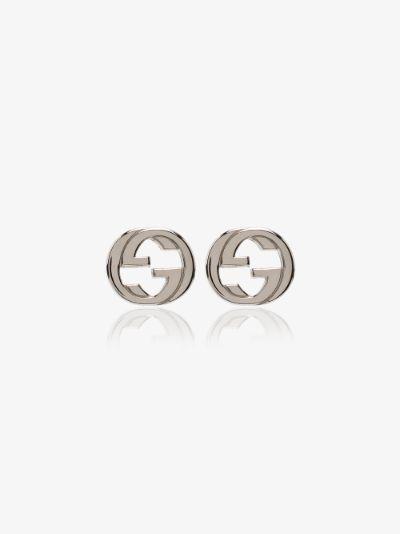sterling silver GG stud earrings