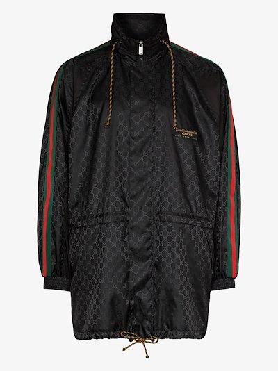 Web stripe jacket