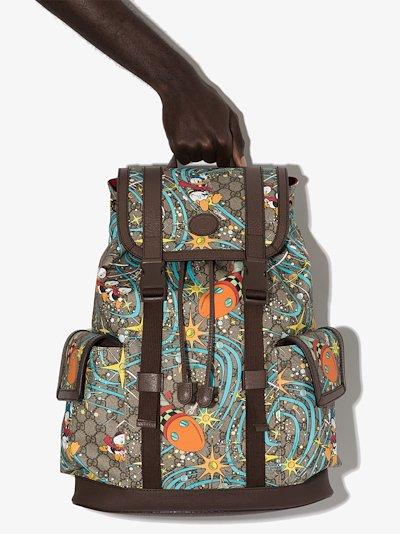 X Disney brown Donald Duck medium backpack