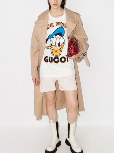 X Disney Donald Duck cotton T-shirt