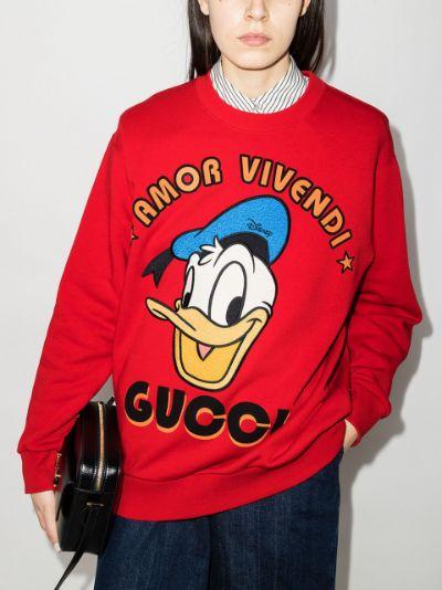 x Disney Donald Duck sweatshirt