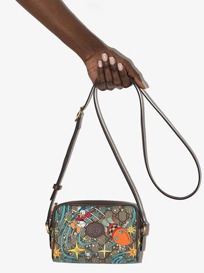 x Disney GG Supreme canvas shoulder bag