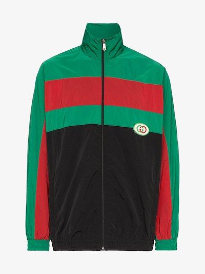 zip-up sports jacket