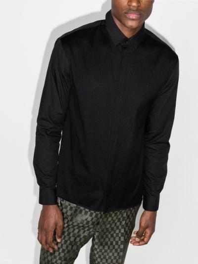 Panelled Cotton Shirt