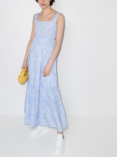 Cape Verde Smocked Maxi Dress