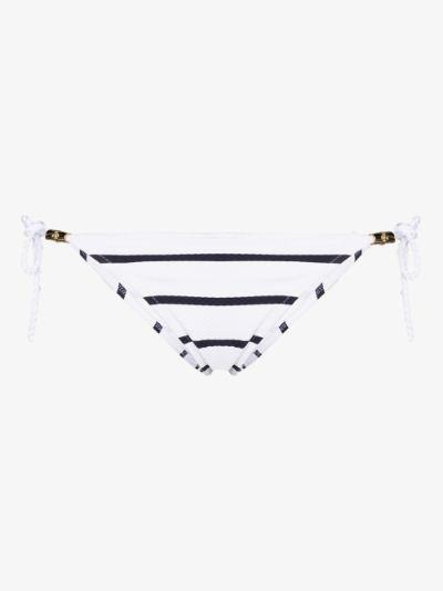 Core tie side bikini bottoms