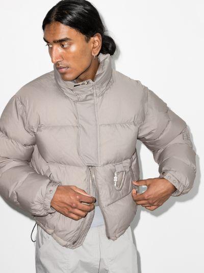 Carabiner padded jacket