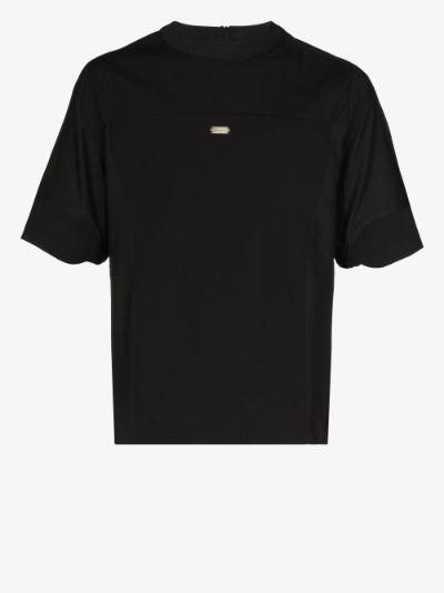 Technical cotton T-shirt