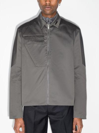 Worker cotton shirt jacket