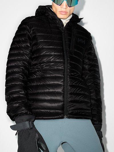 black odin lifaloft padded ski jacket