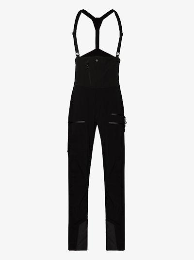 black Odin Mountain ski bib trousers