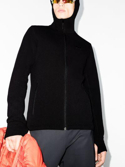 black Power Stretch Pro Glacier hooded jacket
