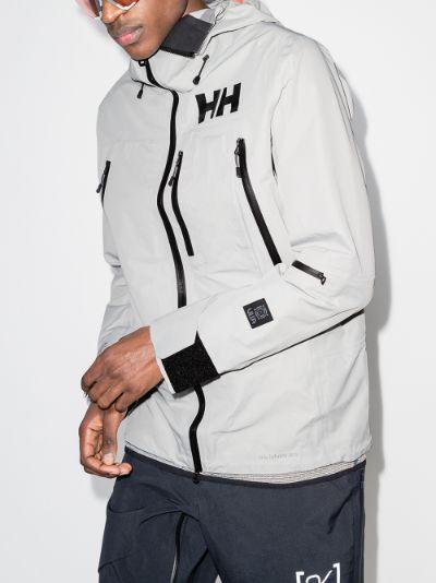 Grey Elevation infinity hooded jacket