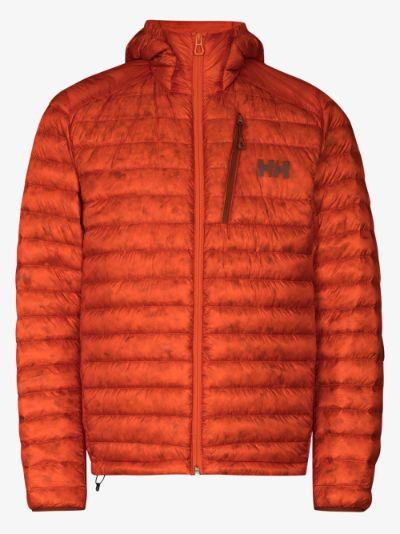 orange Odin Lifaloft down padded jacket