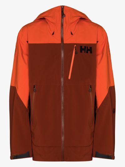orange Odin Mountain 3L shell jacket