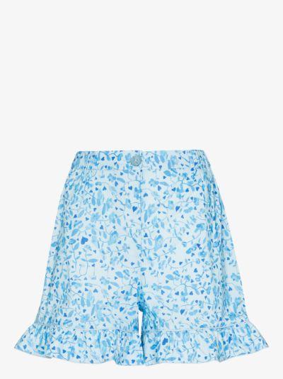 Mira printed shorts