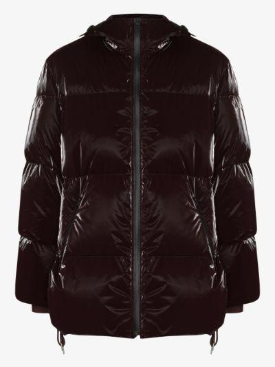 liquid shell puffer jacket
