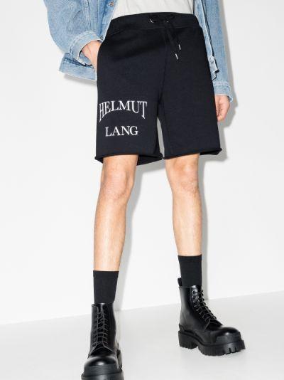 Ocean logo track shorts