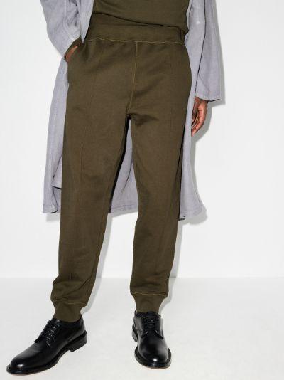 strap detail track pants