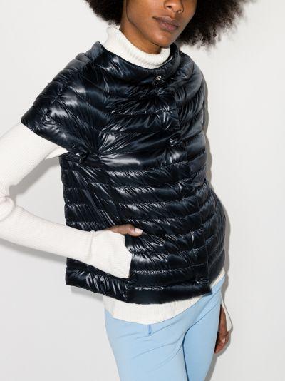 Emilia short sleeve down puffer jacket