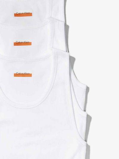 Organic Cotton Ribbed Vest Set
