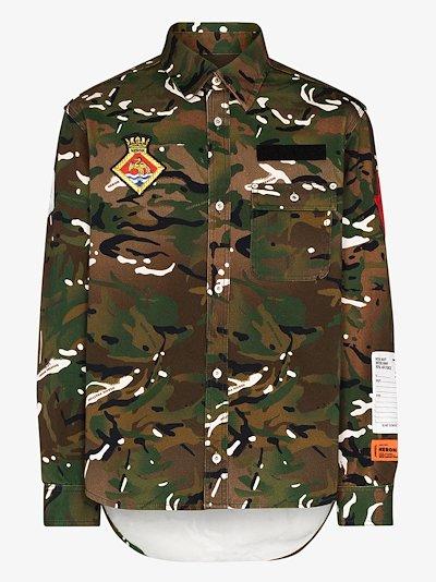 Royal Navy camouflage print shirt