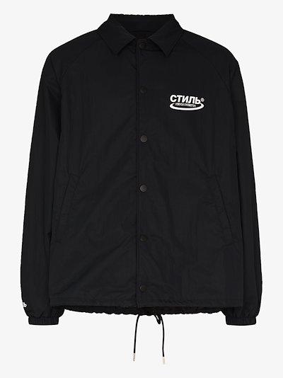 СТИЛЬ logo coach jacket