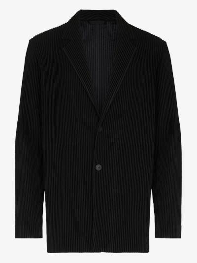 Basics plissé blazer