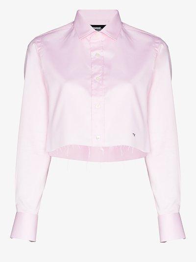 Cropped Cotton Shirt