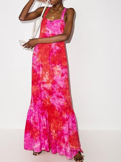 Athena linen maxi dress