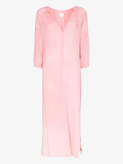 Bianca cotton midi dress