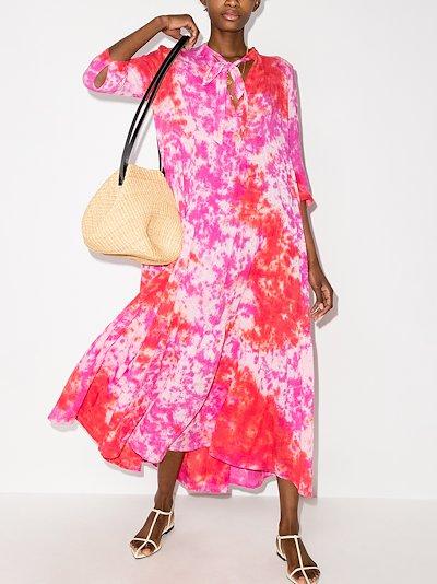 Giselle tie-dye dress