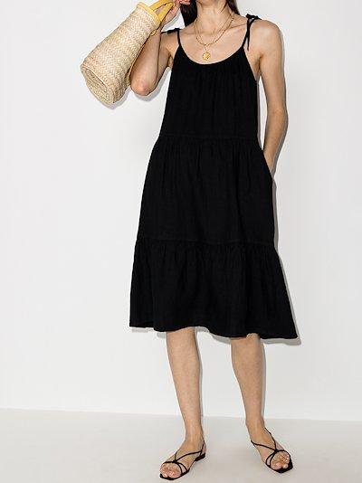 Lucy linen slip dress