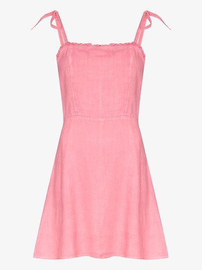 Poppy linen dress