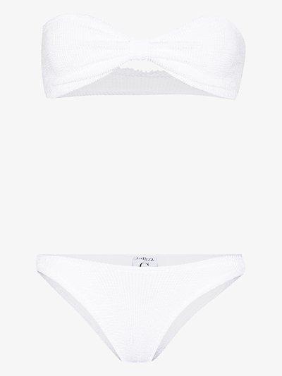 Jean bandeau bikini