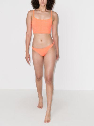 tank top crinkle bikini