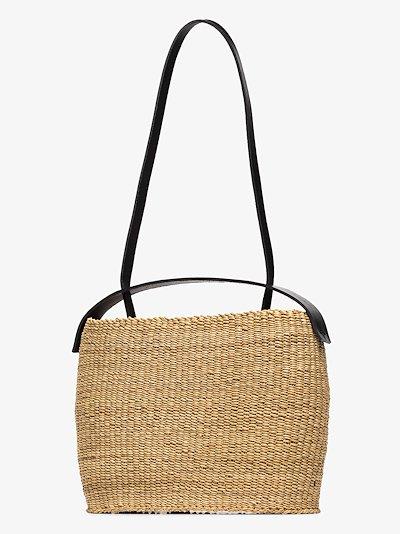 Neutral Akamae N.20 Straw Bucket Bag