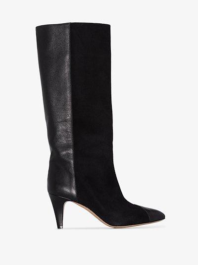 black Leas 75 suede boots