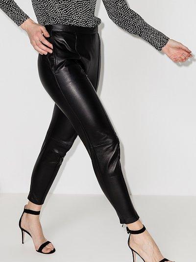 Bleeta Leather Trousers