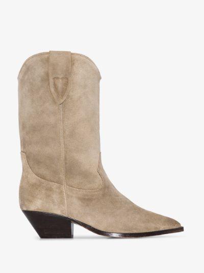 brown Duerto 60 suede cowboy boots