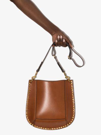 brown Oskan leather shoulder bag